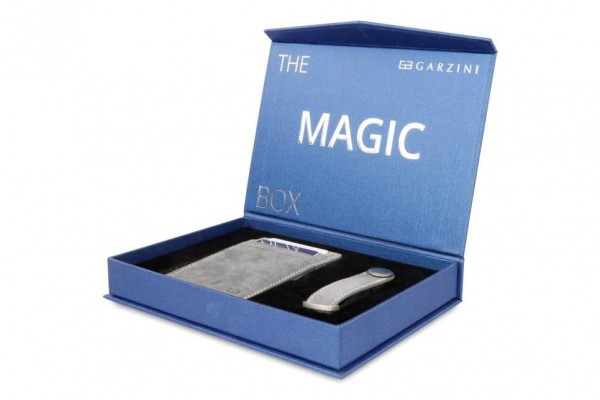 Garzini Gift Box Vintage Metal Grey