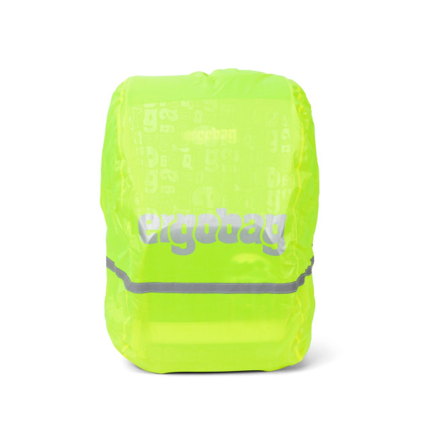 Ergobag Regencape gelb fluoreszierend