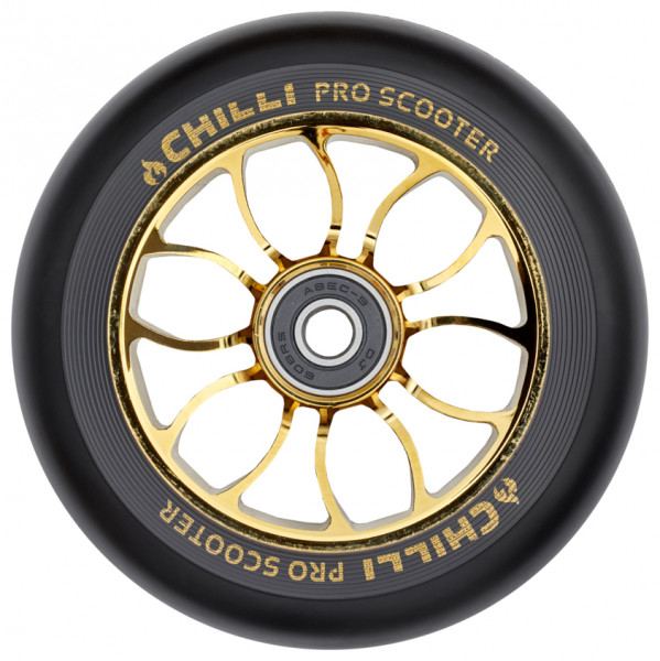 Chilli Wheel Reaper 110mm Schwarz/Gold