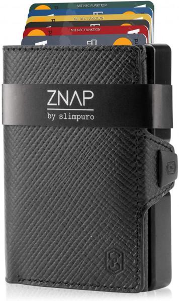ZNAP Slim Wallet - Saffiano 12er