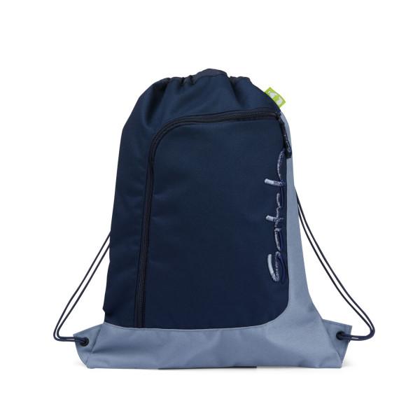 Satch Sportbeutel Solid Blue
