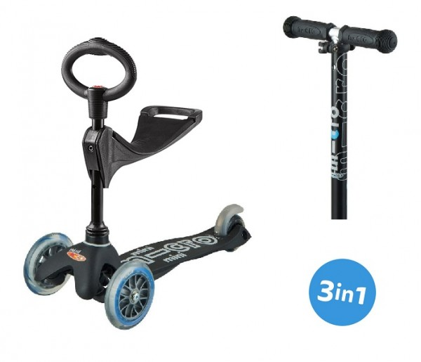 Mini Micro Deluxe 3in1 limited Black