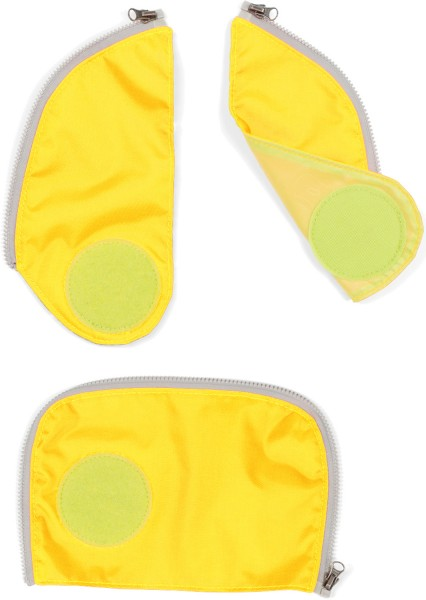 Ergobag Cubo Sicherheitsset gelb