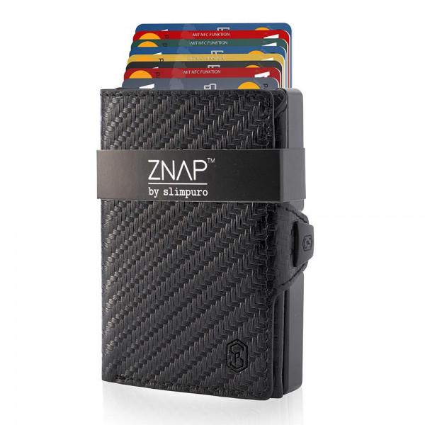 ZNAP Slim Wallet Carbon 12er Bestseller