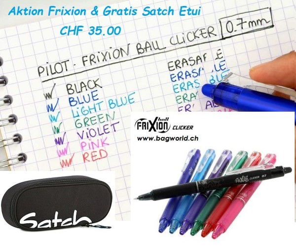SATCH Case Gratis & 6 Frixion Ball Schreiber