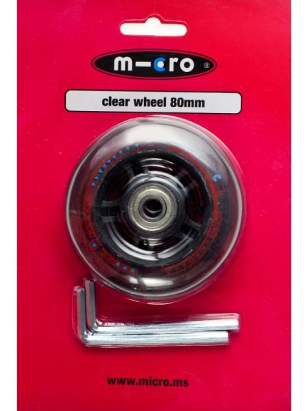 mini + maxi micro Hinterrad 80mm