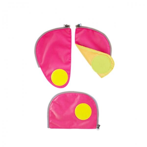 Ergobag Cubo Sicherheitsset pink