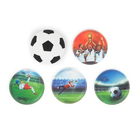 Klettie-Set ergobag 5 teilig Soccer (inkl. 3D Klettie)