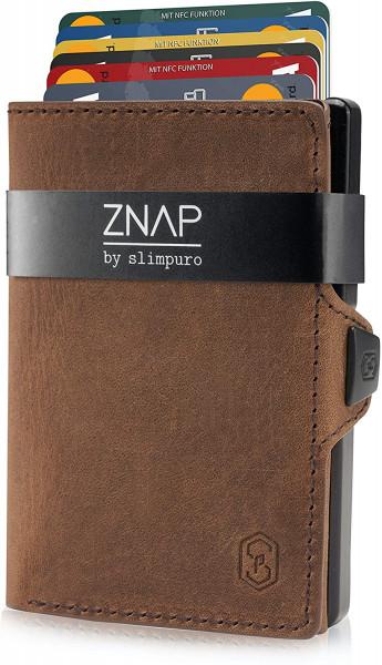 ZNAP Slim Wallet Vintage 8er
