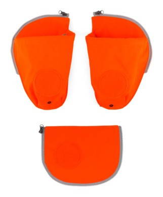 Pack Sicherheitsset mit Flaschenhalter orange