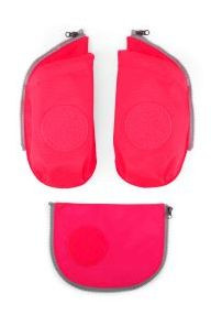 Cubo Sicherheitsset mit Flaschenhalter pink