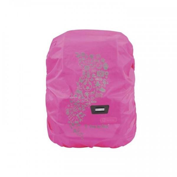 STEP BY STEP Regenhülle Pink mit LED Leuchte Gratis