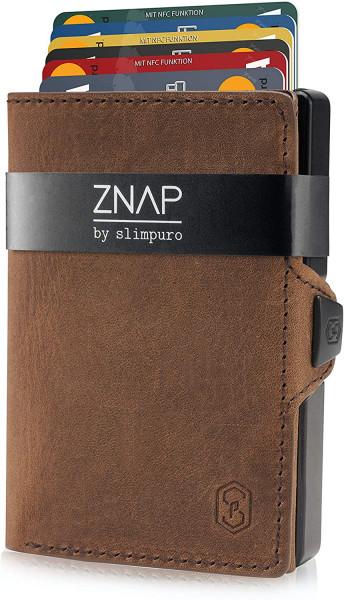 ZNAP Slim Wallet Vintage 12er