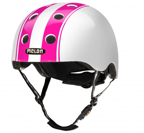 Melon Helm Double Weiss Pink XS - S