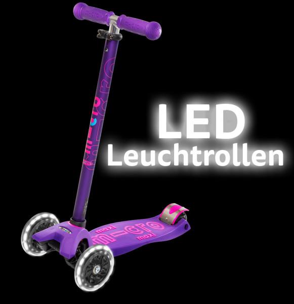 LED micro PU Rad 120mm 2 Stück maxi