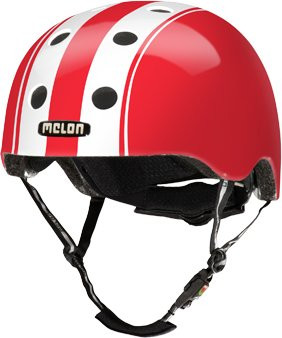 Melon Helm Red M-L 52-58cm
