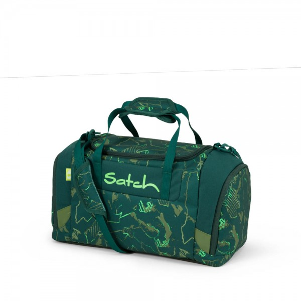 Satch Sporttasche Green Compass