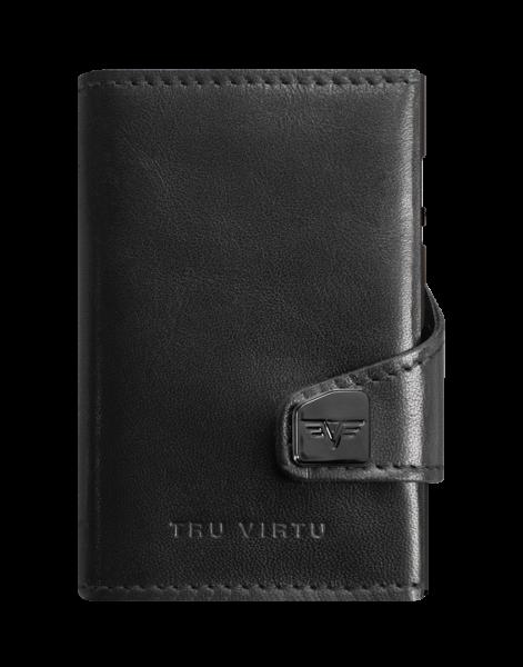 Portemonnaie Click & Slide Double Nappa black (ohne Originalverpackung)