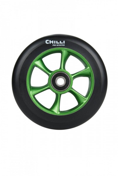 Chilli Turbo Wheel 110mm Grün