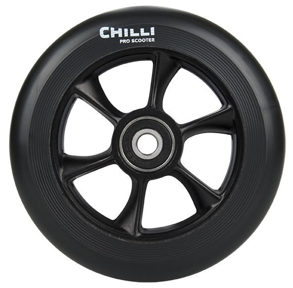 Chilli Turbo Wheel 110mm Schwarz