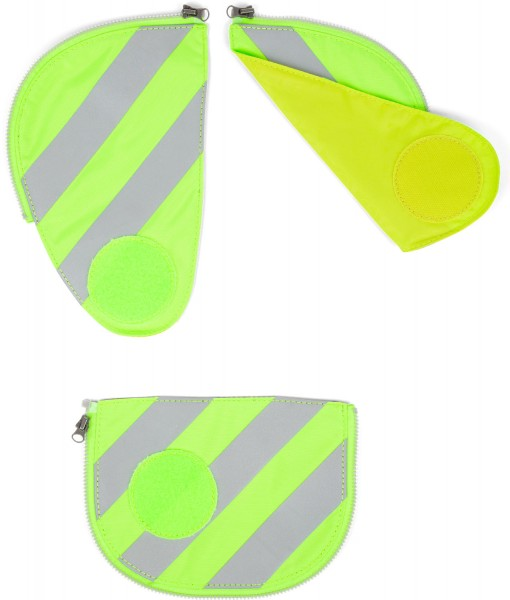 Sicherheitsset Pack mit Reflektierstreifen grün