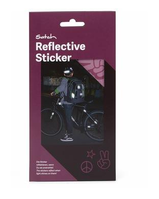 Satch Reflektive Sticker purple
