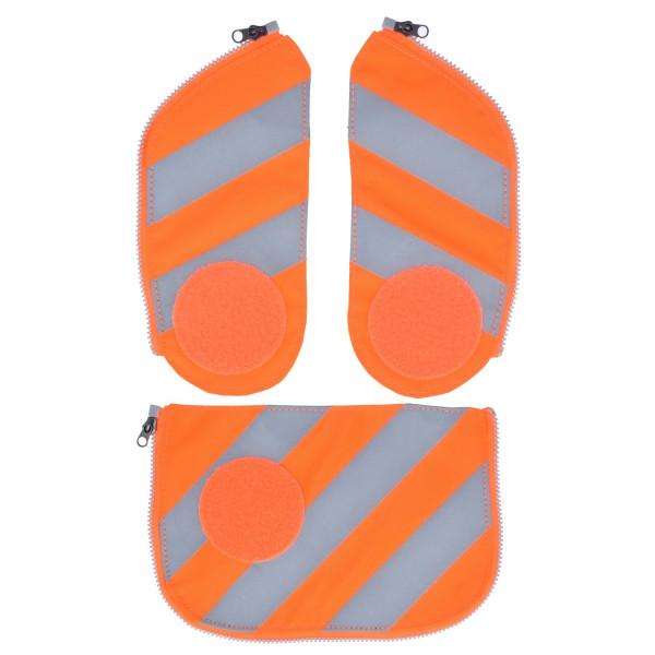 Sicherheitsset Cubo mit Reflektierstreifen orange