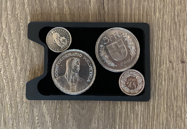 CoinCard Münzfach PE 4 Gramm