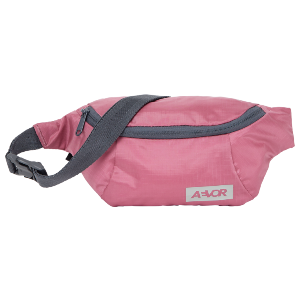 AEVOR Hip Bag Ripstop Cassis 100% rec.PET