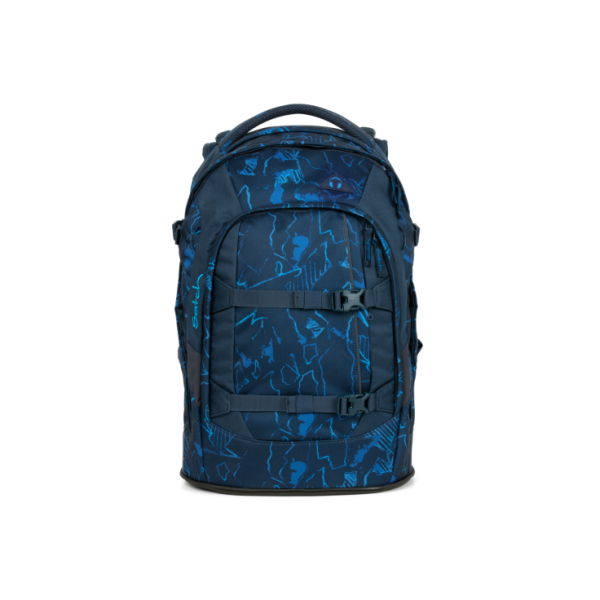 Satch Pack Blue Compass