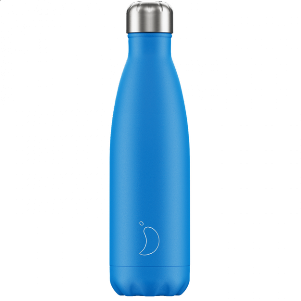 Chilly's Bottle 500ml neon Blue