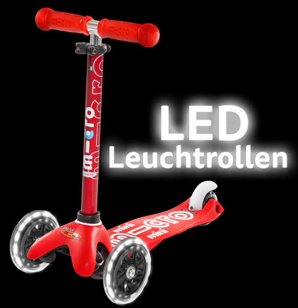LED micro PU Rad 120mm 2 Stück